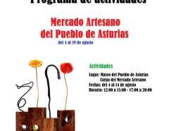 Taller de Pintura Participativo 50 aniversario Pueblo de Asturias